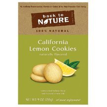 BACK TO NATURE CKY,CA LEM,S#151855-4, 9 OZ by Back to Nature