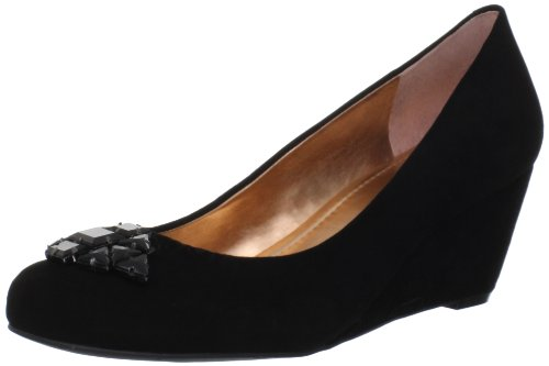 BCBGeneration Womens Treese Wedge Pump Black