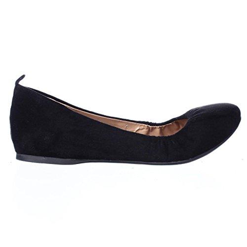 Style & Co. SC35 Vinniee Stretch Ballet Flats - Black uHmyq