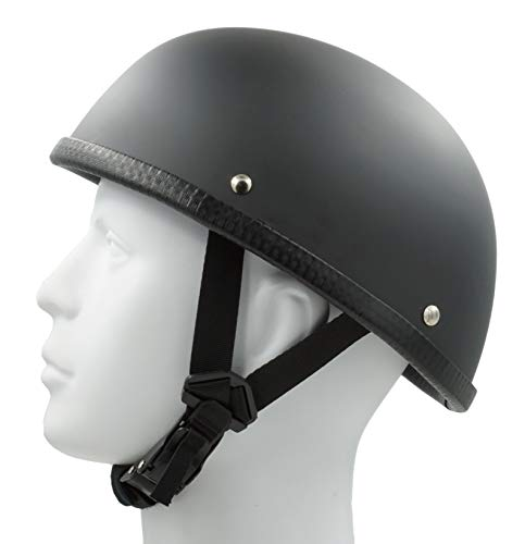 Hot Rides Classic Chopper Biker ATV Helmet Novelty (Non Dot) For Cruiser Harley Scooter Eagle OSFA Flat ()