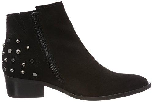 Gabor Vrouwen Comfortabele Sport Enkellaars Zwart (black (micro))
