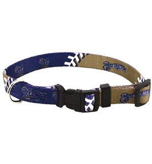 Milwaukee Brewers large pet dog sports collar 40+ lb dogs, My Pet Supplies