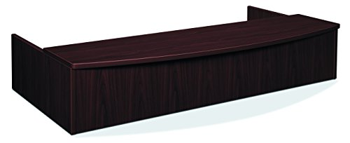 - HON BL Series Reception Station with Bow Front Transaction Counter , 72