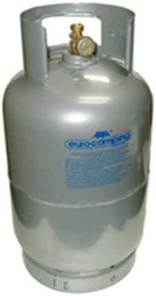 Bombona gas GLP de kg 5 vacía recargable de camping viaje ...