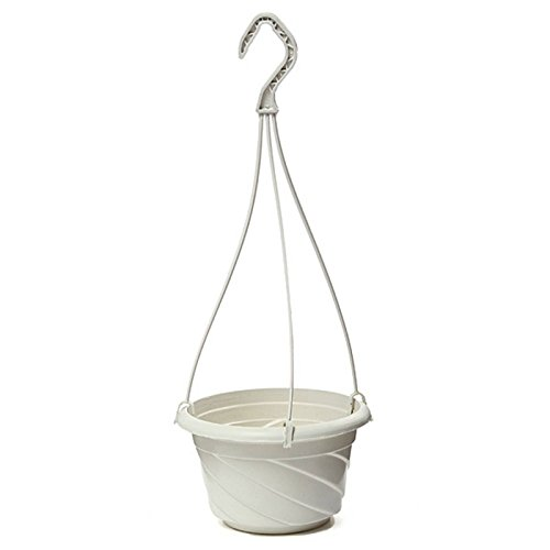 Hanging Flower Plant Pot Home Garden Decoration White Z8A7