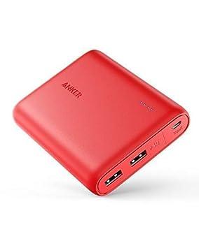 Anker PowerCore 13000, Compacto, 13000mAh, Cargador portatil de 2 Puertos, bateria Externa con tecnología PowerIQ y VoltageBoost, Power Bank para ...