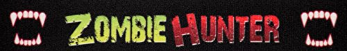 Country Brook Design | 1 Inch Zombie Hunter Photo Quality Polyester, 5 Yards -