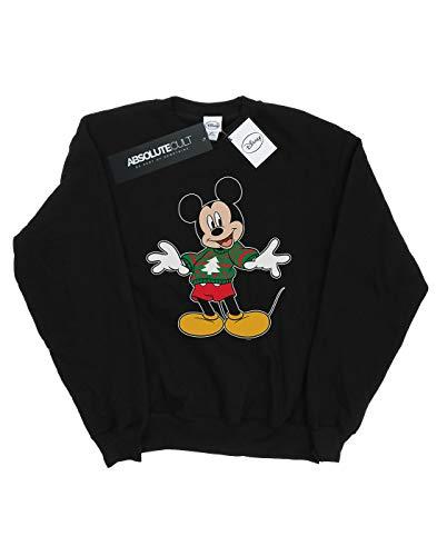 nera Noir Homme Stroke Natale Disney Topolino Felpa Felpa 0qTOYd