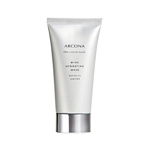 ARCONA Wine Hydrating Mask, Replenish AM/PM 2 oz (59 g)