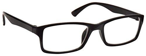 The Reading Glasses Company Black Near Short Sighted Distance Glasses For Myopia Mens Womens UVM092BK - Short Glasses Distance
