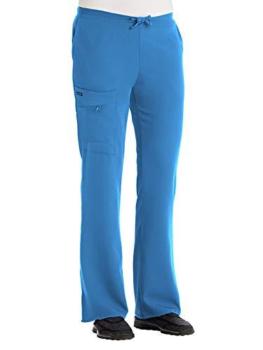 Jockey 2249 Women's Scrub Pant - Comfort Guaranteed Sea Blue XL Tall