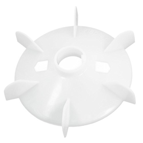 Y160-4.6.8 43mm Shaft Hole Dia Plastic Cooling Fan for 15KW Motor