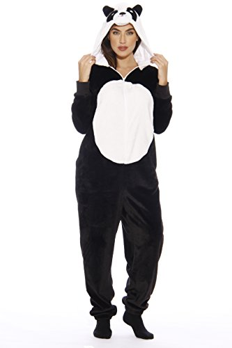 L6403-XS-Panda #FollowMe Adult Onesie/Pajamas]()
