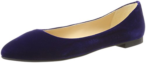 Rusconi 168 Purple Fabio Flats Ballerina Women's Ballet Indaco Toe Closed 7Hq6dHP