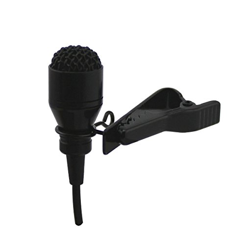 Lavalier Microphone Cardioid - JK MIC-J 055 Lapel Microphone Lavalier Microphone Unidirectional Cardioid Condenser Microphone Compatible with TASCAM Zoom Recorders - 1/8