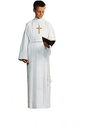 Traje para comunión blanca para niño con cordelière blanco 125 cm ...
