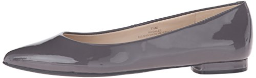 Pictures of Nine West Women's Onlee Synthetic Pointy Toe Flat 6 M US 5