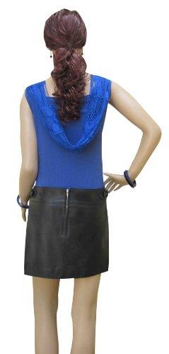 Bespoke Tailored Leather - Falda - para mujer Rojo