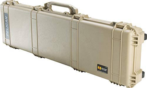(Pelican 1750 Rifle Case With Foam (Desert Tan))