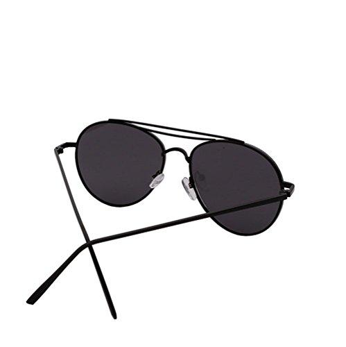 y de gafas las de gafas de gafas de de Black la las cara de cara las los sol de de moda Alger la de sol hombres Black Film la pink sol gafas Frame de 0dYqf0