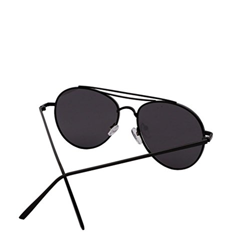 de de gafas sol la de de de sol los de la de sol de la las cara cara gafas las gafas de Alger hombres las de moda Black Film Frame y gafas pink Black wqtEFFd