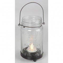 Amazoncom Small Mason Jar Tea Light Holder Home Kitchen