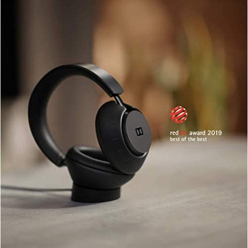 Dolby Dimension Wireless Bluetooth Headphones Over Ear with Active Noise Cancellation (Black) with Dolby LifeMix – Perfected for Entertainment at Home On TV, Smart Phones, Tablets and More