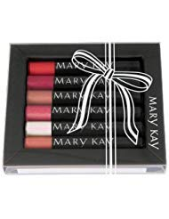Mary Kay  Nourishine Plus Lip Gloss Set (Rock n Red, Sparkle Berry, Fancy Nancy, Pink Luster, Silver Moon and Cafe au Lait)