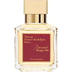 Baccarat Rouge 540 is a unisex chypre fragrance released in 2016 from Maison Francis Kurkdjian. Citrus top notes are dominated by the sweetly juicy blood orange the juice of which is evoked in the name of the fragrance. Among the middle notes...