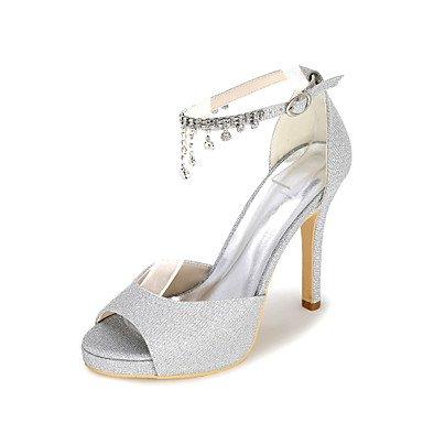 CN43 Sandals Sandals Women'S US10 amp;Amp; Wedding Summer EU42 5 Party Evening 5 Fall Glitter Spring UK8 4ZqxqCdwI