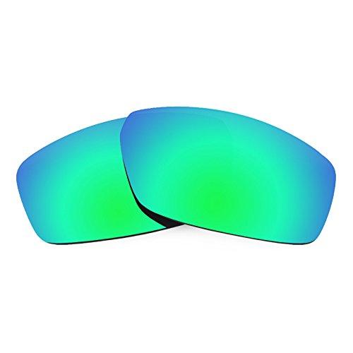 Verres de rechange pour Spy Optic Dirty Mo — Plusieurs options Vert Emeraude MirrorShield® - Polarisés