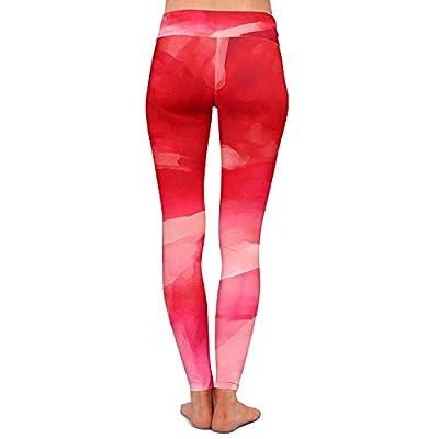 Aquarelle Abstraite Femmes De Leggings Pour Couleur Pantalon Yoga lKcJF1