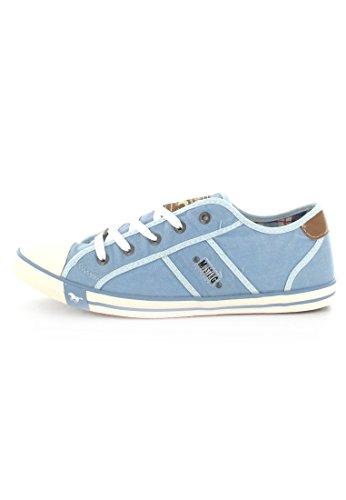 Mustang  - Zapatillas para mujer,  color azul, talla 44