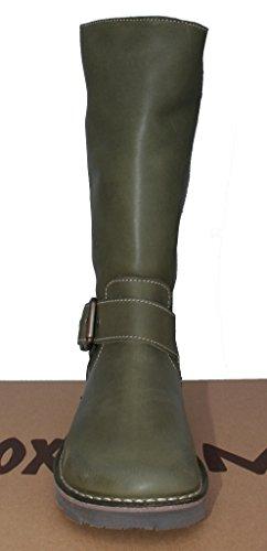 RHONE calf Oxygen Olive boot mid classic model xvffqXB