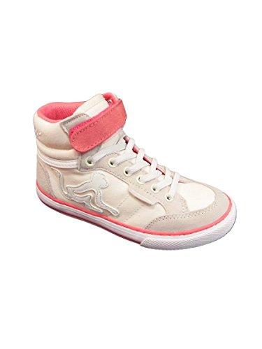 DrunknMunky Boston Classic, Zapatillas de Tenis para Niñas IVORY ROSE