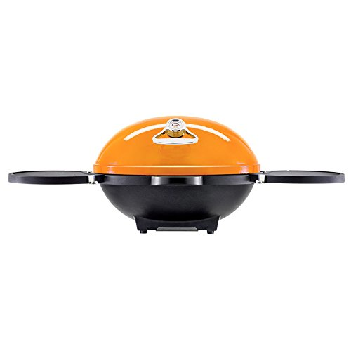 ecBuddy 22-in Barbeque and Hood Amber Gas Grill by ecBuddy