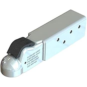 Demco 12660-97 2-5//16 Primed A-Frame Mount EZ-Latch Coupler with Jack Hole