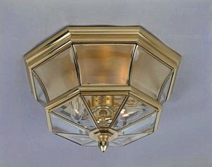 Brass Outdoor Lighting Lifetime Finish in US - 9