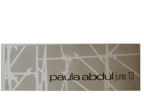 Paula Abdul Banner Poster