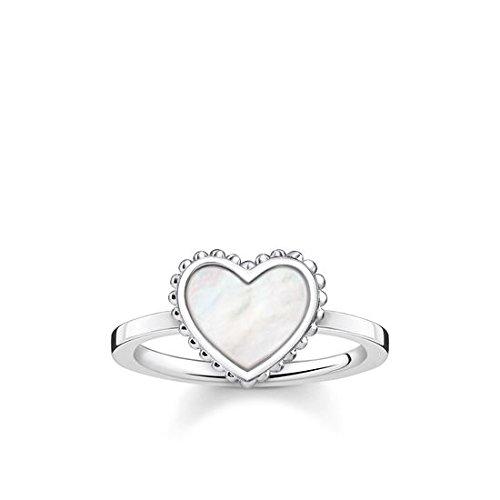 c382141c116b Thomas Sabo Mujer Anillo Glam   Soul Corazón Plata de ley 925 TR2187-029-