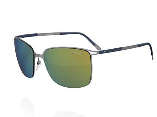 Silhouette Sunglasses Titan Contour (8153 GUNMETAL MIRROR) (Silhouette Mirror)