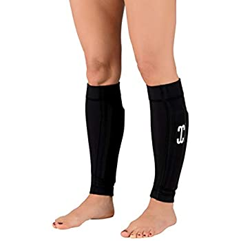 Image of Ankle Weights Wearable Weights Weighted Black Workout Compression Leg Sleeves