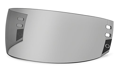 Oakley Straight Pro Cut Hockey Visor, Grey, One Size