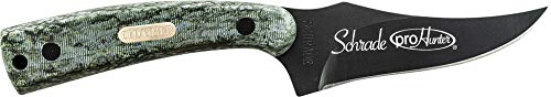 Old Timer 152OTBC Sharpfinger 7.1in S.S. Full Tang Fixed Blade Knife with 3.3in Clip Point Skinner Blade and Sawcut Handle for Outdoor, Hunting and Camping