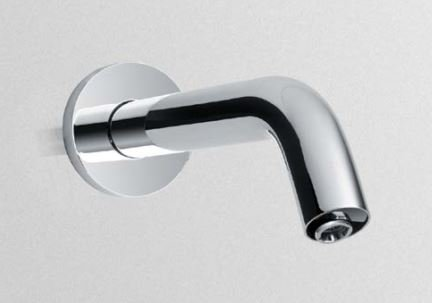 Toto Helix Wall-Mount EcoPower Faucet - 0.5 GPM, Polished Chrome ()