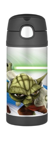 Thermos Funtainer 12 Ounce Bottle, Star Wars Clone Wars