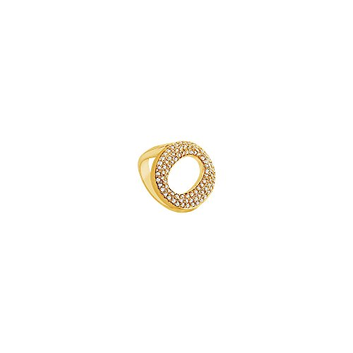 Diamond O Ring 14K Yellow Gold 0.50 CT Diamonds ()