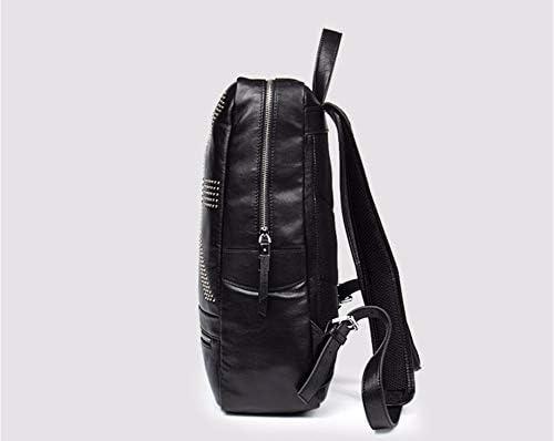 wangjian& Umhängetasche aus Leder für Herren, 37x28x12cm