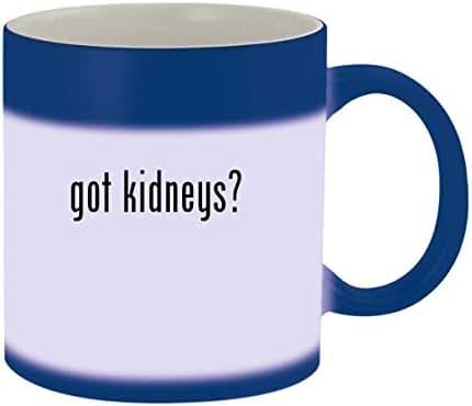 got kidneys? - Ceramic Blue Color Changing Mug, Blue