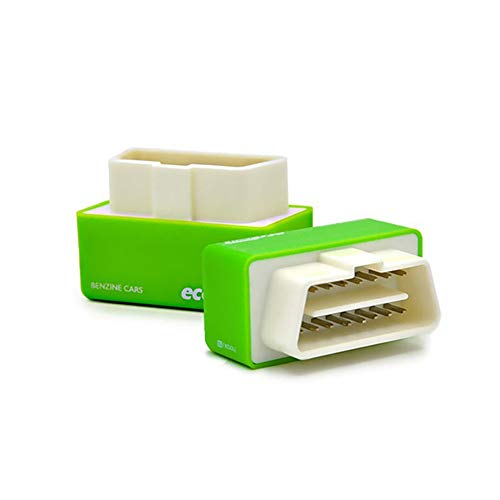 Outzone EcoOBD2 Plug and Drive EcoOBD2 Chip Tuning Box for Gasoline Car Green - Reducing Fuel Consumption for Economy and Lower Emission